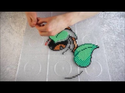 Pokémon VICTREEBEL - Hama Beads. Perler Beads