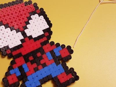 Spiderman - Hama beads Stop Motion tutorial