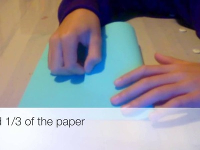 Tutorial Tube Paper Airplane (Flies Farther than normal ones) From Nigahiga