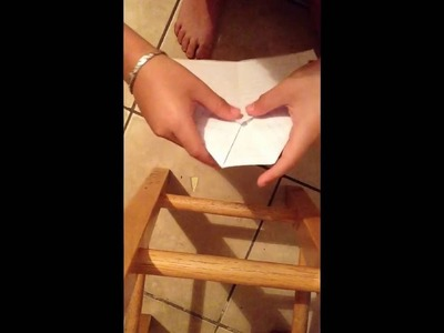 World record paper airplane tutorial