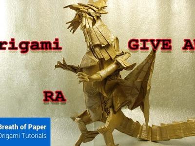 #2 Origami Giveaway THE RA (Egyptian mythology) - GILSAN