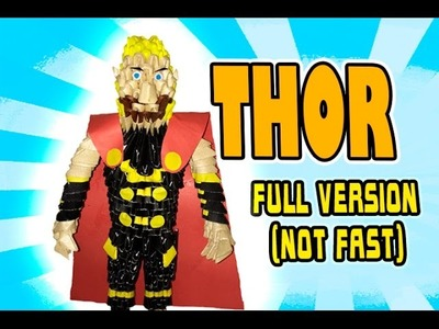 3D MODULAR ORIGAMI #116 THOR FULL VERSION (NOT FAST)