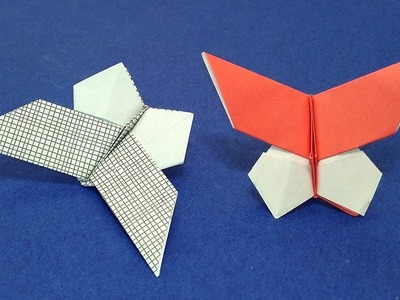 Cute Origami butterfly (Yoshio Tsuda), NOT difficult.