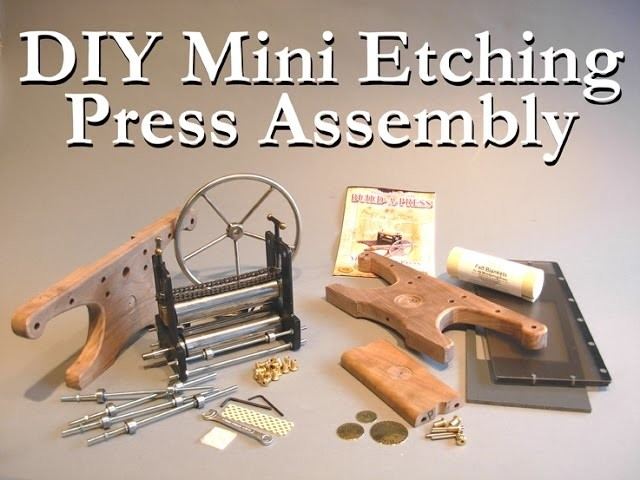 DIY Mini Etching Press Assembly