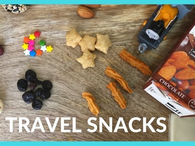 DIY | Travel Snacks For Indian Kids