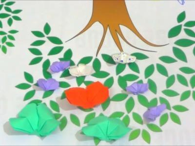 Easy Butterfly Origami | कागज़ की तितली  आसानी से कैसे बनाएं ?