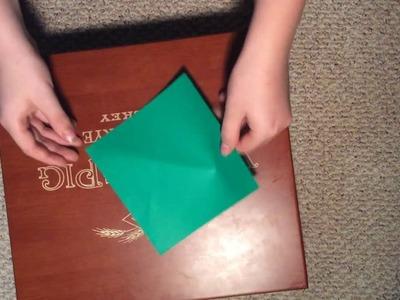 Easy Origami Crane For Beginners