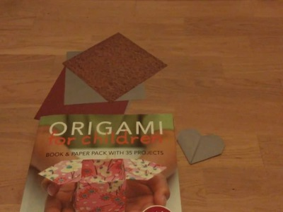 How to make an origami heart!