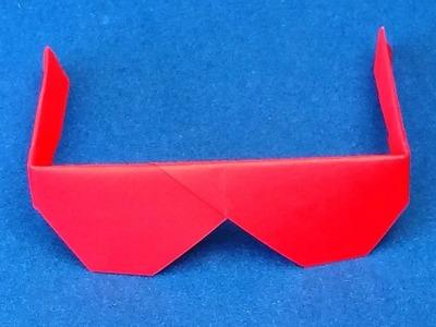 How to Make Origami Sunglasses