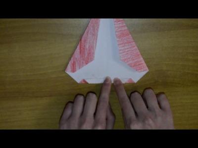 Idea Natale: Babbo Natale.SantaClaus origami facile.easy