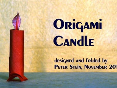 Origami Candle