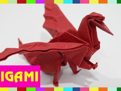 Origami Dragon Fly - How To Fold Dragon Fly ( Kasumi Paper )