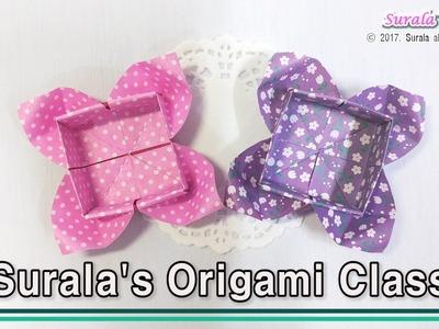 Origami - Flower Box (Gift Box)