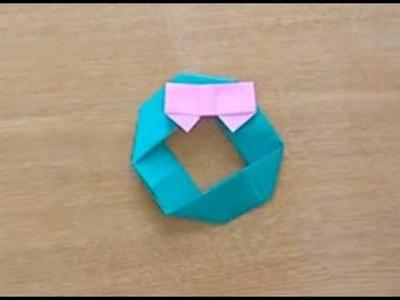 折り紙 Origami・りーす Wreath