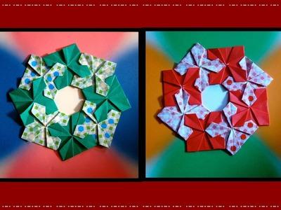 Origami Maniacs 225: Frobel's Variations Wreath 2. Guirnalda 2