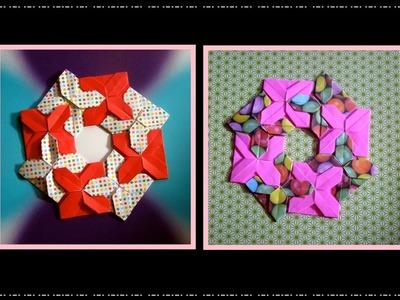 Origami Maniacs 227: Frobel's Variations Wreath 4. Guirnalda 4