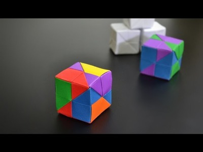 Origami: Modular Cube - Instructions in English (BR)