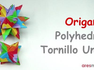 Origami Octahedron & Dodecahedron (intermediate - modular)