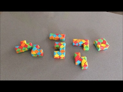 Origami Puzzle Cube