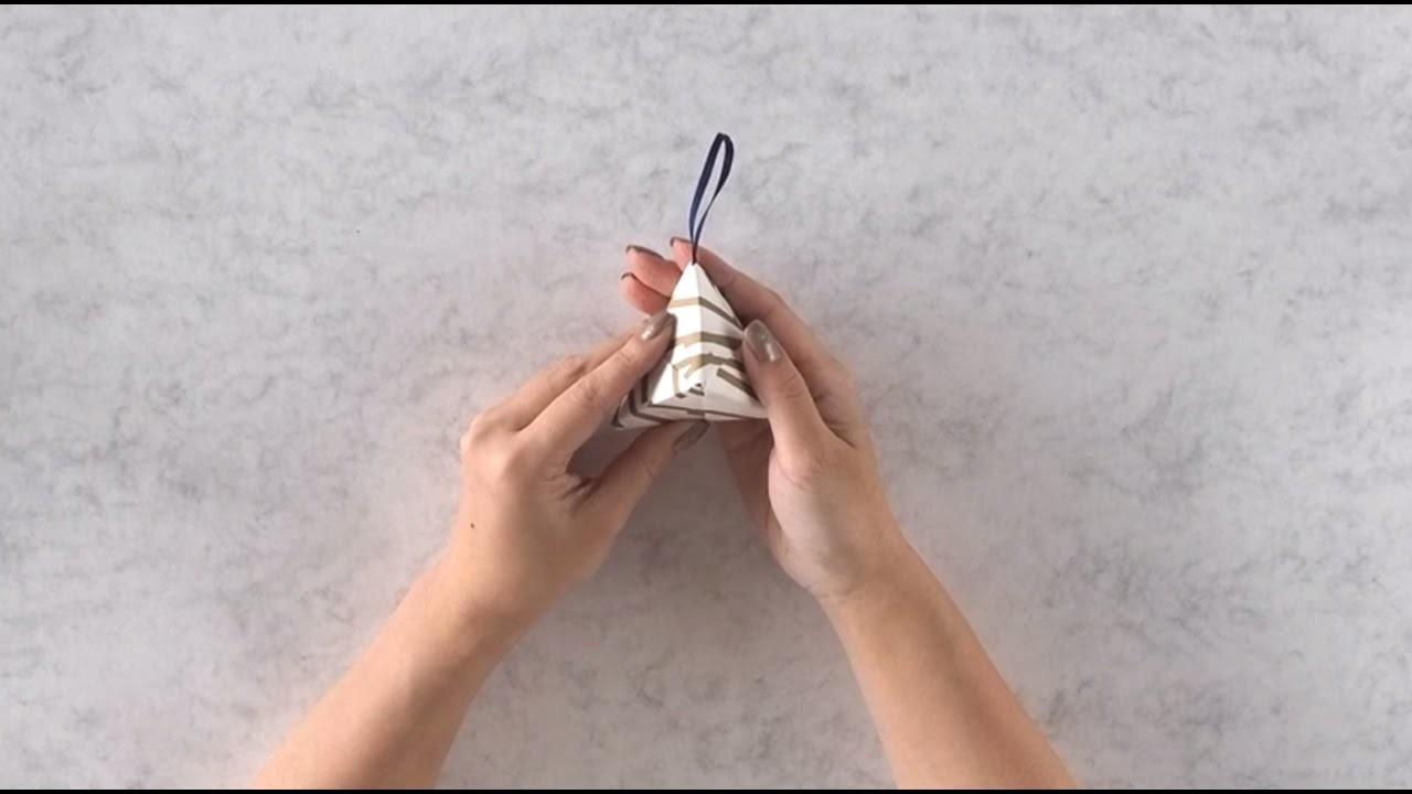 Origami Tutorial: ASSEMBLE THE SONOBE PYRAMID