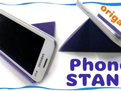 Origami Tutorial: Origami Phone Stand.Holder