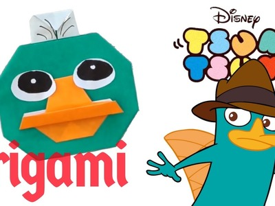 PERRY Tsum Tsum Origami Tutorial