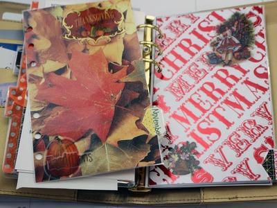 Personal Planner Set Up-Nov and Dec Folders