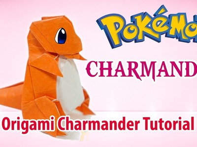 POKEMON: Origami Charmander Tutorial ♡ Origami THs.