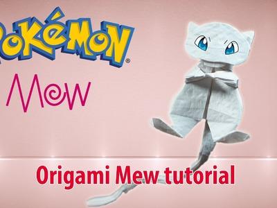 POKEMON: Origami Mew tutorial ♡ Origami THs.