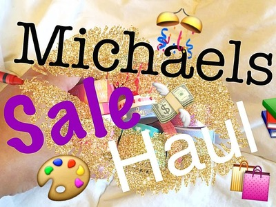 The Happy Planner Stickers, Washi Tape and more - Michaels Haul || Save Money + Review