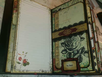 Tutorial Page 5 & 6 Scrapbook. Planner Mabel`s Diary