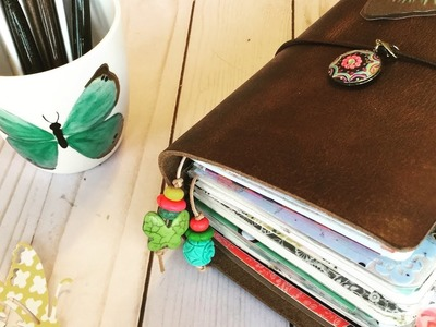 2017 Junk Journal style planner in  A6 Chic Sparrow Outlander