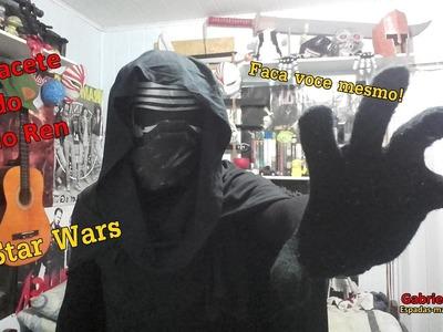 DIY - Como fazer o capacete do Kylo Ren (Star Wars)