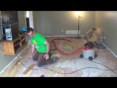 DIY Hardwood Floor (from tree to floor)