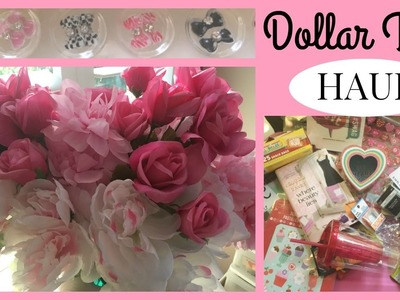 Dollar Tree HAUL 2017 * New Washi, Nail Art, Valentine's Decor, Planner supplies, DIY, & More!