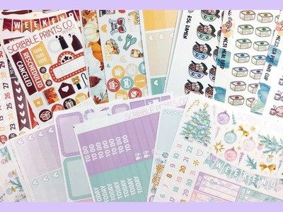 ♡ Etsy Haul | Planner Stickers