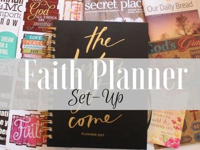 Faith Planner Set-Up