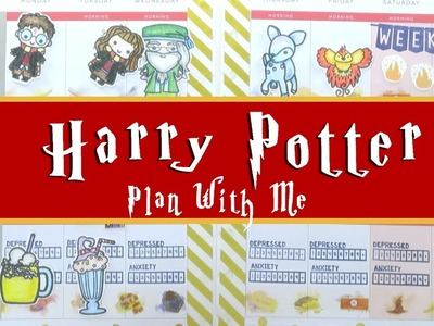Harry Potter Plan With Me (Happy Planner)