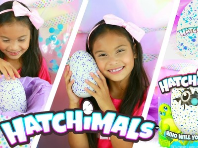 HATCHIMALS  OPENING GIANT MAGICAL SURPRISE EGG TOY! UNBOXING HOT HOLIDAY TOYS CHRISTMAS