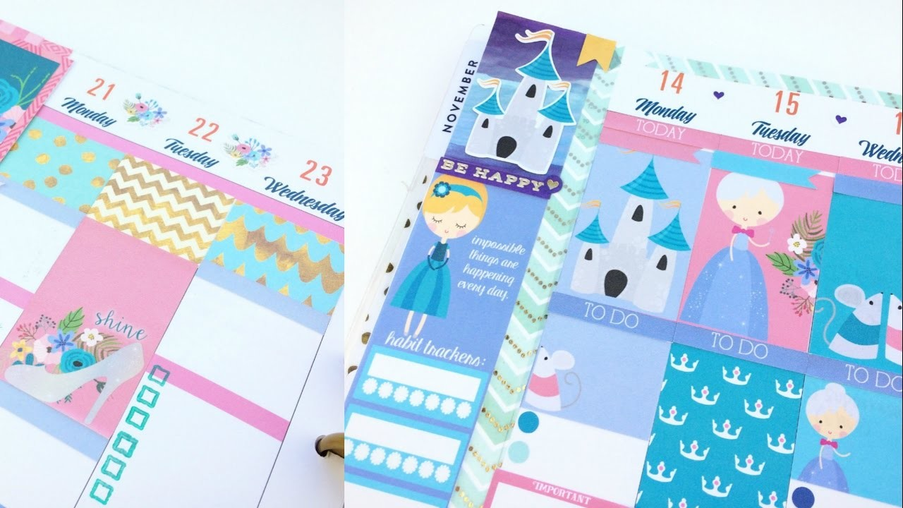 How to Make the Most of Etsy Sticker Kits: Happy Planner Plan With Me