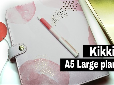 KIKKI K LARGE LEATHER PLANNER IN PINK LAVENDER ♥♥♥