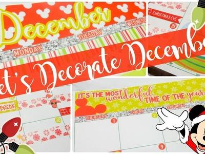 Let's Decorate December! in my Erin Condren Life Planner