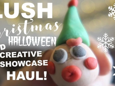 LUSH SHOWCASE.CHRISTMAS AND HALLOWEEN NEW PRODUCTS! | LulabelleMUA