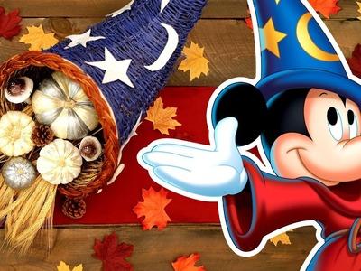 Mickey Sorcerer's Hat Cornucopia | Disney DIY