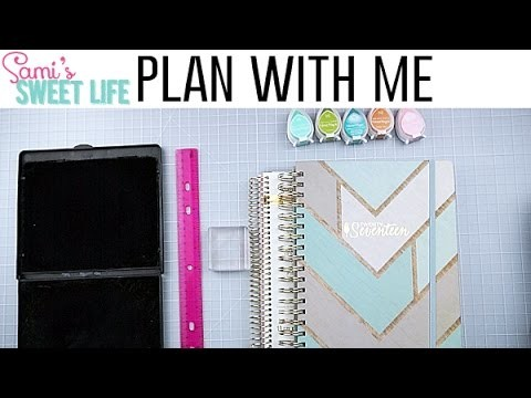 My Planner Setup 2017 + Weekly Plan with Me | Inkwell Press & Michael's Planners