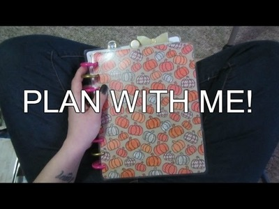 Plan With Me and Planner Flip! ft. My Fauxdori | NEW COVER | HAPPY  PLANNER| SUGAR