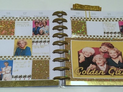 PLAN WITH ME | HAPPY PLANNER | Golden Girls Theme!