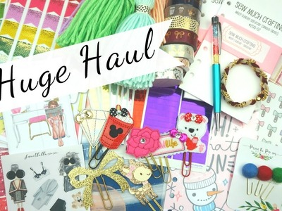 Planner Haul: Stickers & Accessories (Black Friday.PO Box)