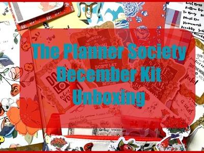 The Planner Society | December Kit Unboxing