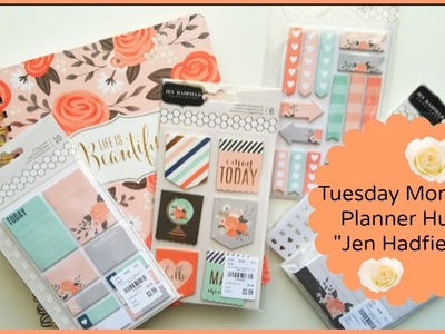 Tuesday Morning Planner Haul: Jen Hadfield & More.
